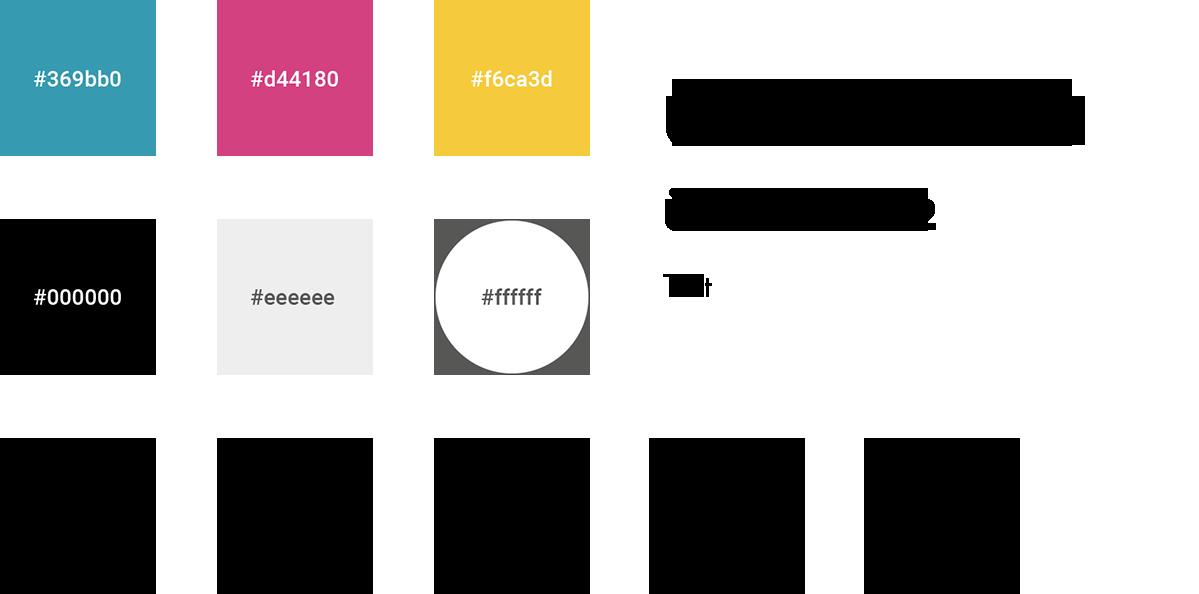 Farben, Schriften und Icons von DIS