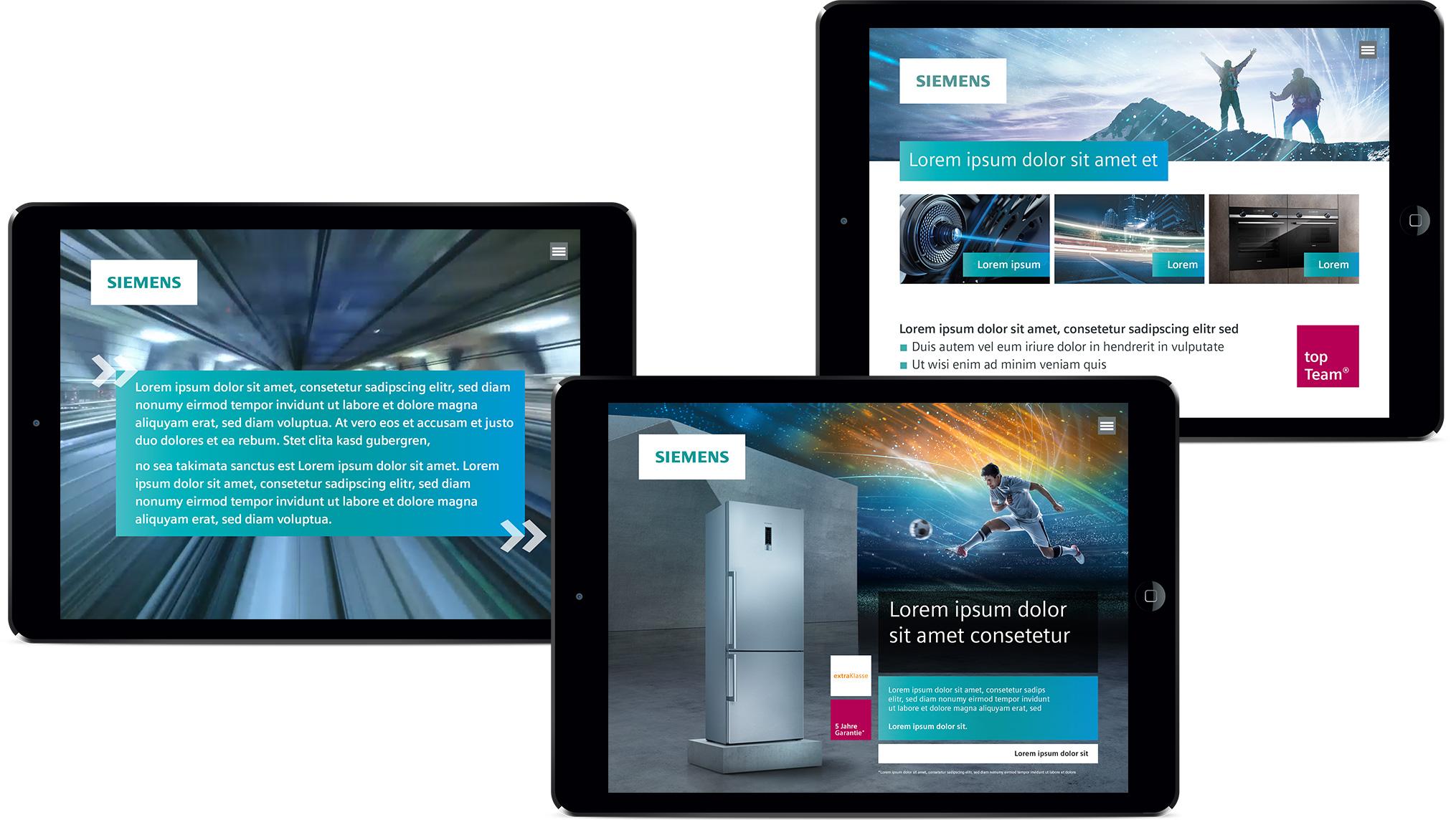 topTeam App in iPads